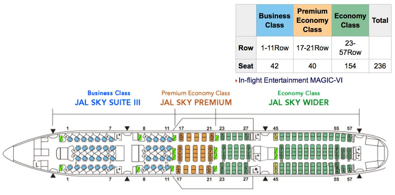 photo jl 777 seat map