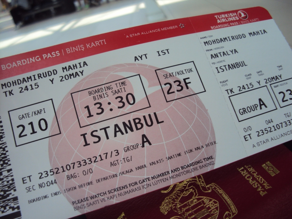 Review Of Turkish Airlines Flight From Istanbul To Antalya